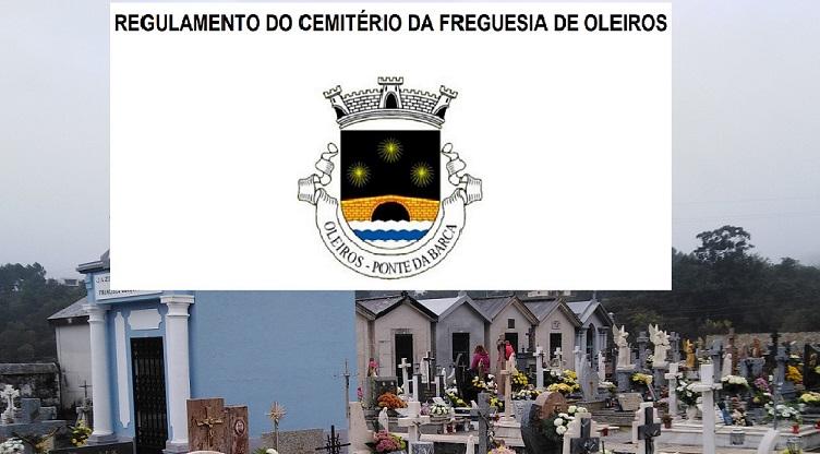 Projeto de Regulamento do Cemitério da Freguesia de Oleiros, aprovado quinta-feira, 19 de novembro, está sob CONSULTA PÚBLICA DURANTE 30 DIAS