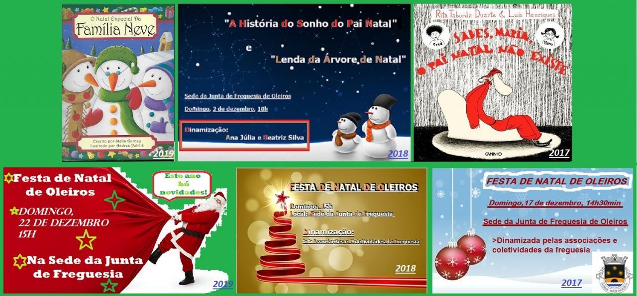 Atividades de Natal dos últimos três anos serão recordadas durante o mês de dezembro